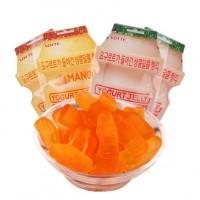 韩国进口乐天芒果味乳酸菌果汁软糖糖果