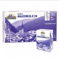 奥地利原装进口阿贝多脱脂纯牛奶