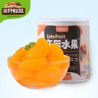 三只松鼠 橘子梨什锦黄桃罐头  300g*5