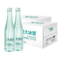 恒大冰泉低钠水  长白山饮用矿泉水500ml*24