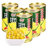 甘竹牌      甜玉米粒罐头425g*3罐