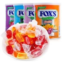 印尼进口     雀巢FOX'S霍士水晶糖透明糖混合水果味