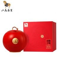 八马茶叶 新品特级武夷金骏眉红茶瓷罐礼盒红茶大气礼盒装180g