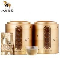 八马茶叶 安溪铁观音清香型乌龙茶秋茶252g*2罐装