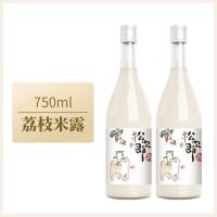 苏州桥    桂花米露水蜜桃原味米露低度米酒甜酒750ml