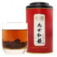西湖牌  茶叶红茶 九曲红梅特级100g罐装