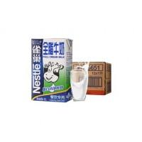 Nestle/雀巢    全脂牛奶1L*12盒箱装