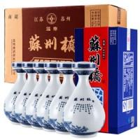 苏州桥    国华本地白酒42度国华整箱500ml*6瓶
