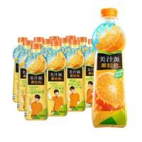美汁源  果粒橙橙汁  420ml*12瓶