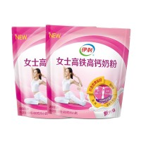 伊利 女士高铁高钙奶粉 400g*2袋