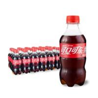 可口可乐 Coca-Cola 汽水 碳酸饮料 300ml*24瓶 整箱装 可口可乐出品 新老包装随机发货